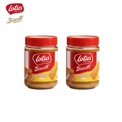 Picture of Lotus Biscoff Crunchy Spread 380g x 2