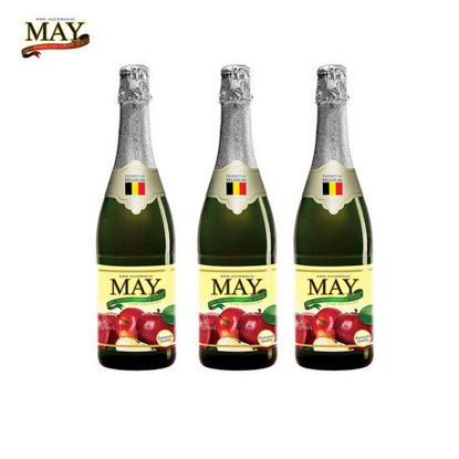Picture of May Sparkling Apple Juice 750ml x 3