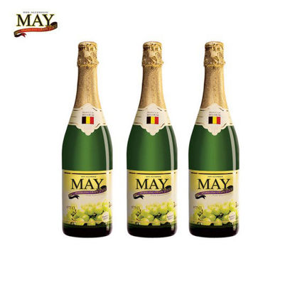Picture of May Sparkling White Grape Juice 750ml x 3