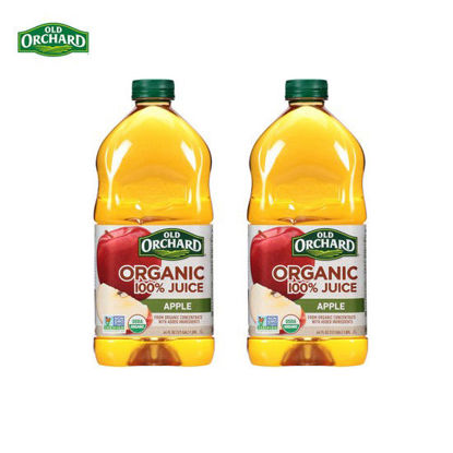 Picture of Old Orchard Organic Apple Juice 64oz x 2