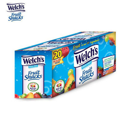 Picture of Welch's Fruit Snacks Mixed Fruits 0.9oz x 20 Pcs.