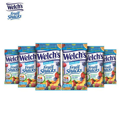 Picture of Welch's Fruit Snacks Mixed Fruits 2.25oz Pack Of 6