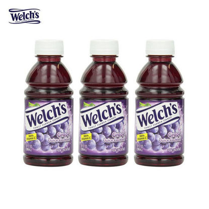 Picture of Welch's Grape Juice Cocktail 10oz x 3
