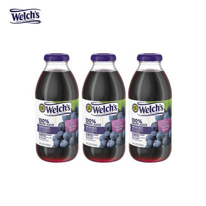 Picture of Welch's Grape Juice Purple 16oz x 3