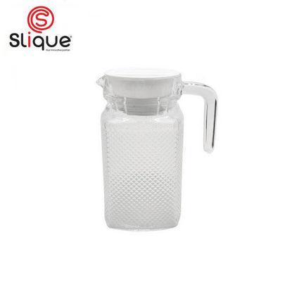 Picture of SLIQUE Glass Pitcher 500ml - White