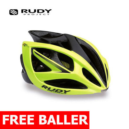Picture of Rudy Project Helmet Airstorm Yell.Fluo/Black Matte Small-Medium (54-58 cm)