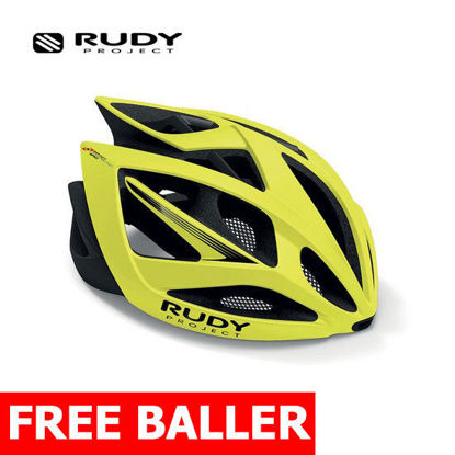 Picture of Rudy Project Helmet Airstorm Yellow F. Matte Large (59-61 cm)
