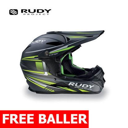 Picture of Rudy Project Helmet Avenger Titanium/Lime Matte Large (59-61 cm)