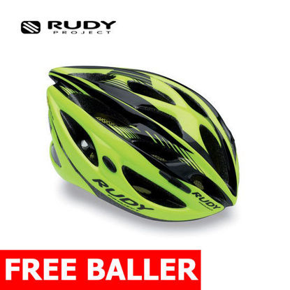 Picture of Rudy Project Helmet Zumax Yell.Fluo/Black Shi.Size Small-Medium (54-58 cm)