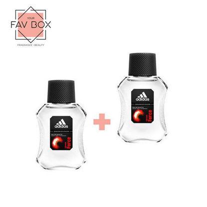 Picture of Adidas Team Force Eau De Toilette for Men 100ml 2pcs Bundle