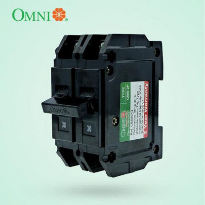 Picture of Omni Circuit Breaker Bolt-on 2 Pole 20A