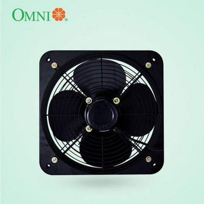 Picture of Omni Industrial Wall Mounted Exhaust Fan with Grille 12 inches