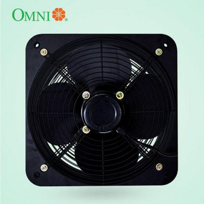 Picture of Omni Industrial Wall Mounted Exhaust Fan with Grille 16 inches
