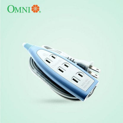 Picture of Omni Extension Cord Set 4 Gang 4 Meter Wire 2000W 15A 250V