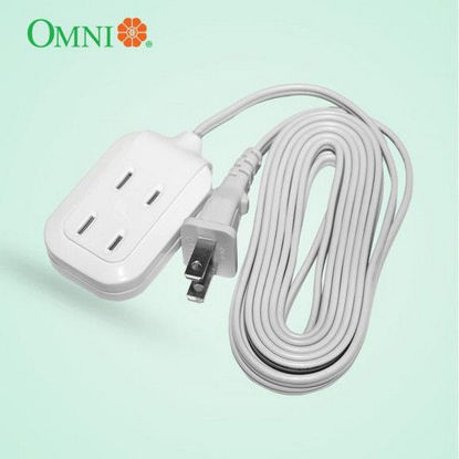 Picture of Omni Dual Portable Extension Cord Set 1000W 6A 250V 3M