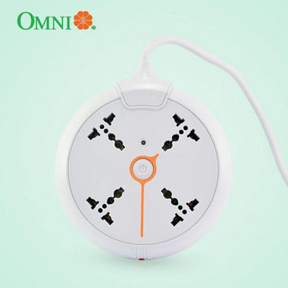 Picture of Omni Universal Disc Extension Cord 4 Gang with Switch 1.83 Meter Cord Length 2500W 10A 250V