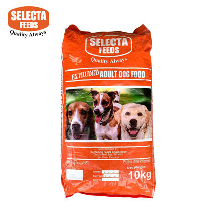 Picture of Selecta Feeds Extruded Adult Dog Food 10kg (Beef & Rice Flavor)