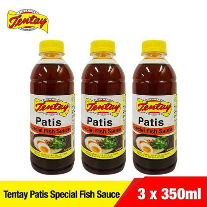 Picture of Tentay Patis Special Fish Sauce 350ml PET x 3