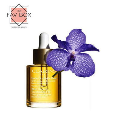 Picture of Clarins Blue Orchid Face Treatment Oil 30ml