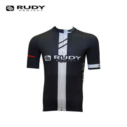 Picture of Rudy Project Apparel Cycling Jersey Black And White