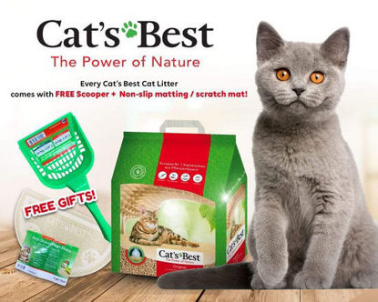 Picture of Cat's Best Oko Plus Clumping 4.3Kg