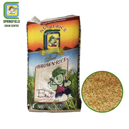 Picture of Springfield Nutri-Rice Brown Rice 25kg