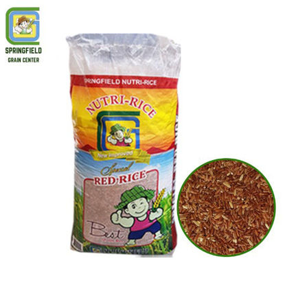 Picture of Springfield Nutri-Rice Red Rice 25kg