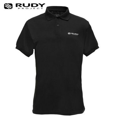 Picture of Rudy Project Apparel Drifit Polo Shirt Target Black Large
