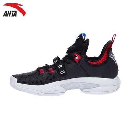 "Picture of Anta Gordon Hayward GH2 ""Black Red"" Low Men's Basketball Sneakers"
