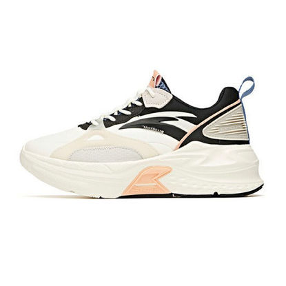 Picture of Anta Women Mix Casual Shoes - Ivory White/Black/Pink