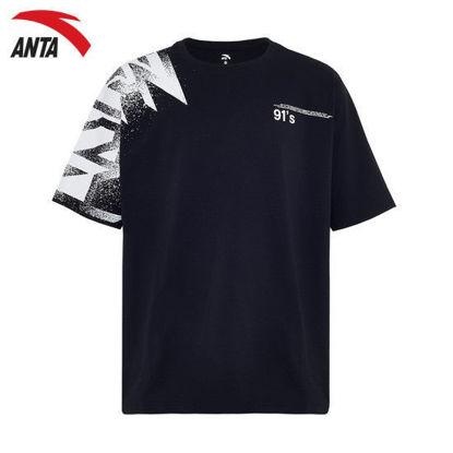 Picture of Anta Men Ss Tee - Basic Black