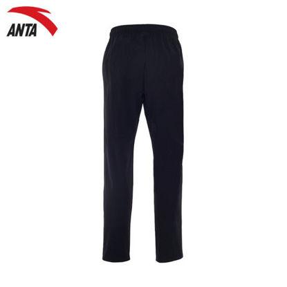 Picture of Anta Men Woven Track Pants - Basic Black