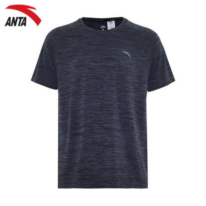 Picture of Anta Men Running T-Shirt - Grey