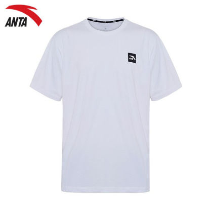 Picture of Anta Men Ss Tee - White M
