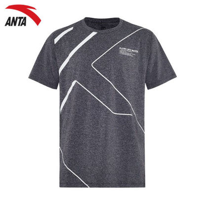 Picture of Anta Men's Sports T-shirt - Grey M
