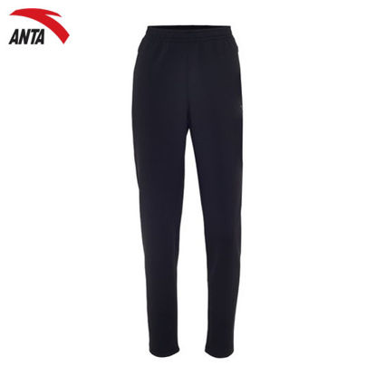 Picture of Anta Women's Jersey Trousers with Cuff Running A-Sports Shape Black