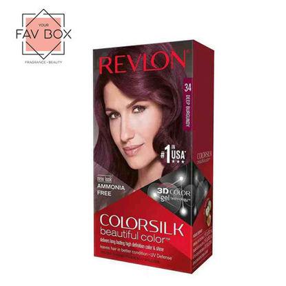 Picture of Revlon Colorsilk Beautiful Color with Keratin 130ml Deep Burgundy No.34