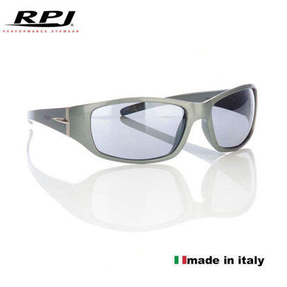 Picture of RPJ FRED Shiny Titanium with Black Lenses