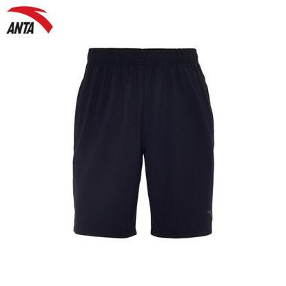 Picture of Anta Men's Knit Half Pants Black
