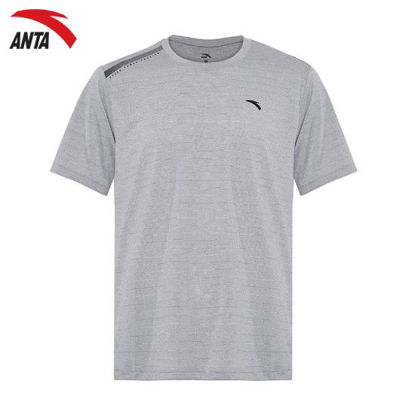Picture of Anta Men's Sports T-shirt Grey S