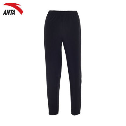 Picture of Anta Women Woven Track Pants DarkBlue