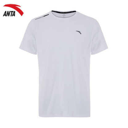 Picture of Anta C100 Running SS Tee - White