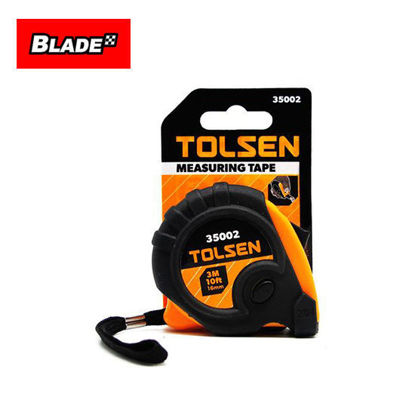 Picture of Tolsen Measuring Tape 35002 3 Meters 10ft.x16mm