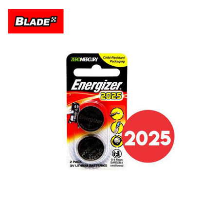Picture of Energizer CR2025BP2 Lithium Coin 3V