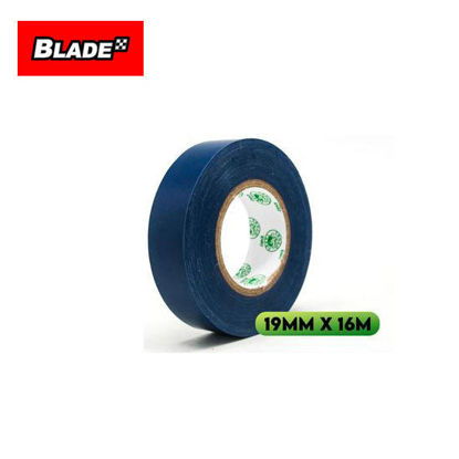 Picture of Croco Tape Flame Retardant PVC Electrical Insulating Tape 19mm x 16m (Blue)