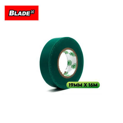 Picture of Croco Tape Flame Retardant PVC Electrical Insulating Tape 19mm x 16m (Green)