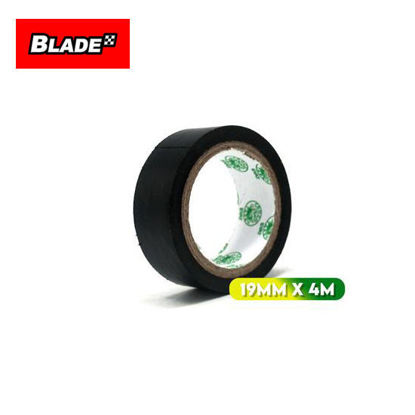 Picture of Croco Tape Flame Retardant PVC Electrical Insulating Tape 19mm x 4m (Black)
