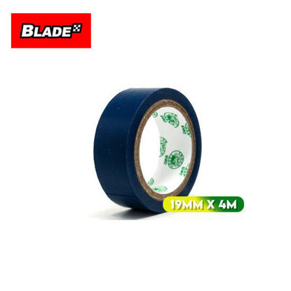 Picture of Croco Tape Flame Retardant PVC Electrical Insulating Tape 19mm x 4m (Blue)