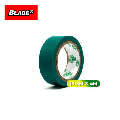 Picture of Croco Tape Flame Retardant PVC Electrical Insulating Tape 19mm x 4m (Green)