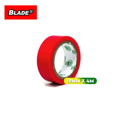 Picture of Croco Tape Flame Retardant PVC Electrical Insulating Tape 19mm x 4m (Red)